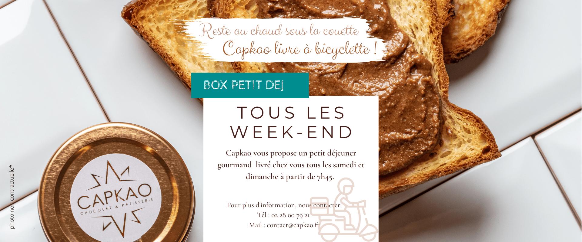 Capkao - Box Petit Déjeuner