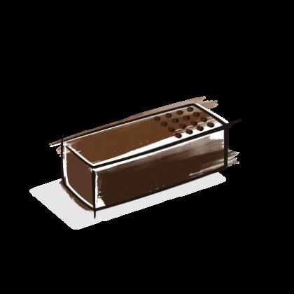 "Capkao - Chocolat ""Iceberg"""