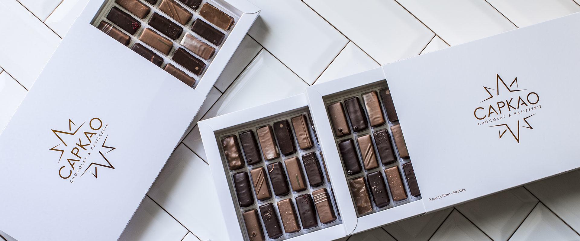 Coffrets Chocolats de Capkao à Nantes