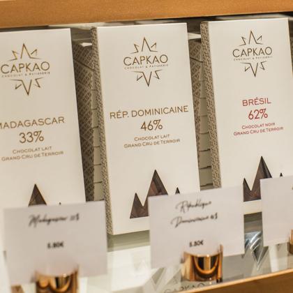Capkao - tablette chocolat Pure Origine