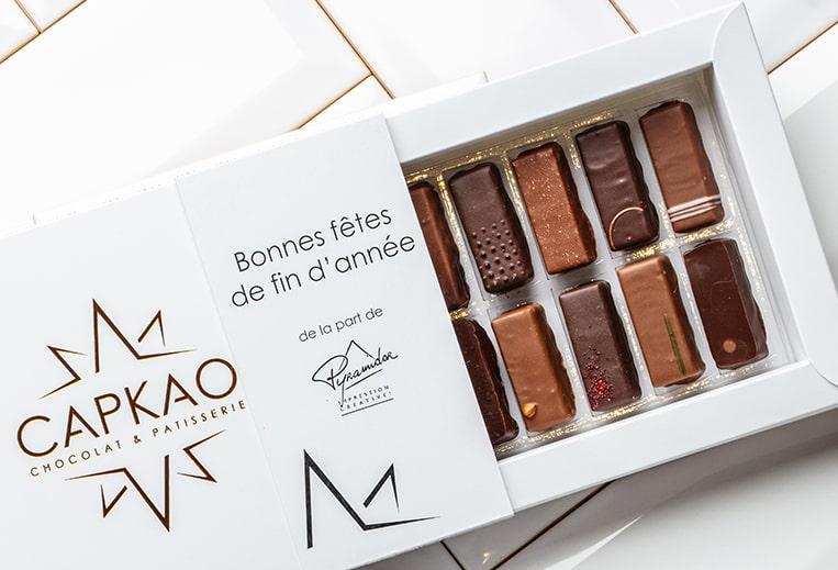 Capkao - Coffret bonbons de chocolat