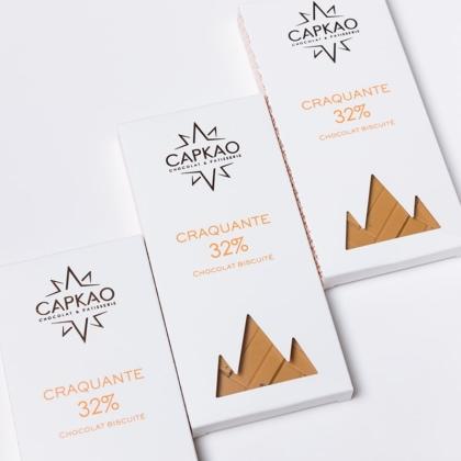 Capkao - Tablette craquante