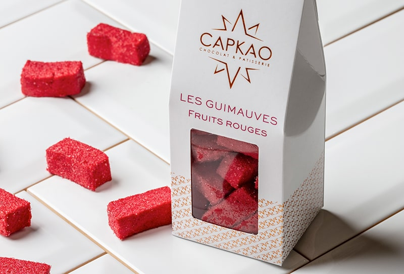 Capkao - Confiserie - Guimauves fruits rouges