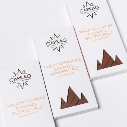 Capkao - Tablette Caramel au beurre salé